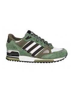 buy popular e5e9d 1a970 Zapatillas Adidas Originals ZX 750 Hombre Piedra Verde   Oliva   Obsidiana    Blanco9K0fLc