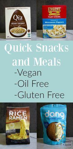 Vegan Snacks On The Go, Healthy Party Snacks, Easy Snacks, Healthy Foods To Eat, Eating Healthy, Sin Gluten, Vegan Gluten Free, Dairy Free, Vegan Store Bought Snacks
