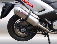 "Exo7 Pot Ligne complete ""Exosport Exo7"" INOX Homologue Catalyse Yamaha T-Max / TMax 530T-MAX 530 4t LC inject (à partir de 2012)"