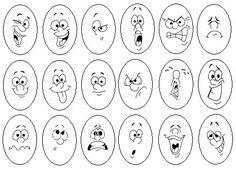 Ideas Funny Face Cartoon Facial Expressions Design Reference For 2019 Cartoon Faces Expressions, Funny Cartoon Faces, Cartoon Eyes, Cartoon Drawings, Funny Cartoons, Expression Face, Face Sketch, Design Reference, Pose Reference