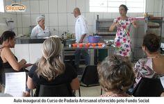FUNDO SOCIAL DE PEDREGULHO MINISTRA CURSOS DE PADARIA ARTESANAL