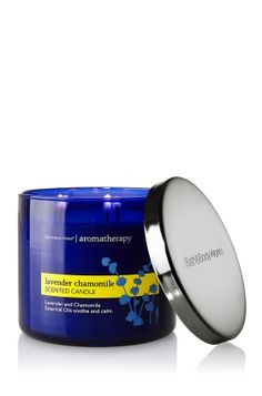 Bath & Body Works 3 wick Lavender Chamomile Candle - Aromatherapy candle, good for when you're studying or before you go to bed. I freaking love it and use it all the time.