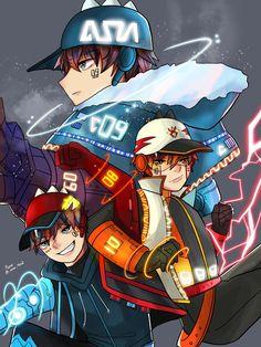 Boboiboy Anime, Anime Kiss, Anime Couples Manga, Cute Anime Couples, Anime Art, Galaxy Movie, Boboiboy Galaxy, Anime Galaxy, Fruits Basket Anime