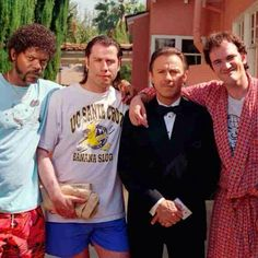 """""""Holy Royale with Cheese! This epic flick was released 20 yrs ago... Really? Time flies... #pulpfiction"""""""