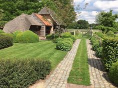 White Gardens, Farm Gardens, Small Gardens, How Beautiful, Beautiful Gardens, Patio, Backyard, Sycamore Farms, Topiary Garden