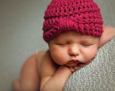 Bebé niña turbante Gary bebé niña sombrero turbante por TinySmiley