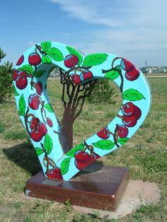 Another heart sculpture in Loveland, CO