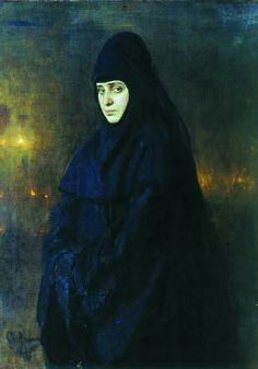 "Илья Ефимович Репин - ""Монахиня"" 1887 +++ Ilya Repin - ""Nun"""
