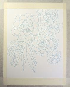 Succulent Watercolor Tutorial