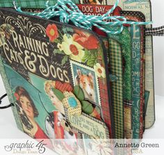 Awesome Raining Cats & Dogs board book by Annette! Love this #graphic45