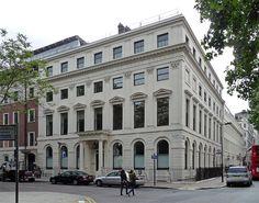17 Bloomsbury Square - John Nash (architect) - Regency.