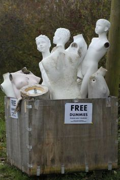 FREE DAMAGED MANNEQUIN PARTS other