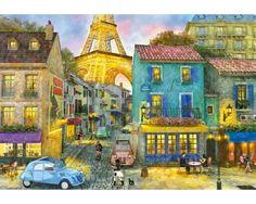 Puzzle Educa Calle de París de 1500 Piezas