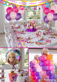 Looking For Barbie Party Ideas That Your Sweetie Will 3 City Has Fab Favors Decorations Plates Napkins And More To Throw A Super Stylish Soiree