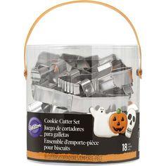 Halloween Metal Cookie Cutter Set