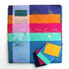 Mixed Gift Wrap Paper With Tags, £8.95