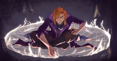 """""""Caleb frantically drawing the teleportation circle before scrapping it was a huge mood tbh Critical Role Campaign 2, Critical Role Fan Art, D D Characters, Fantasy Characters, Larp, Comic Character, Character Design, Dnd Art, The Adventure Zone"""