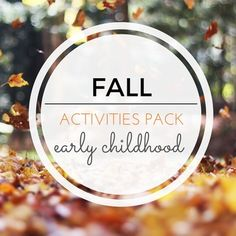 Don't miss this gorgeous FALL Montessori Inspired Activities Pack! With 60…