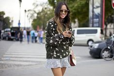 Gorgeous Street Style From Paris FashionWeek   StyleCaster
