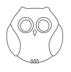 Image result for owl pattern cut out