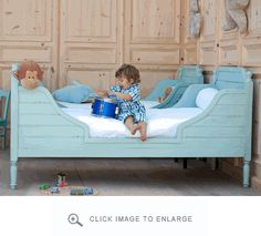 Bradshaw Kirchofer Beach House Bed | PolkaDotPeacock.com