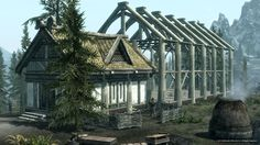 Skyrim, build your own house and adopt children in the Hearthfire add on pack! Sims meets skyrim :)