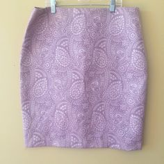 "NWOT LILAC PENCIL SKIRT 53% cotton and 47% polyester size 12 22"" length NEW!! **bundles save 10%** no holds/no trades/no modeling/no asking for lowest New York & Company Skirts Pencil"