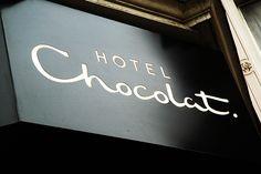 Hotel Chocolat Estates Ltd, Soufriere, St. Hotel Chocolate, Chocolate Stores, Luxury Chocolate, Death By Chocolate, Like Chocolate, Chocolate Lovers, Chocolate Dreams, Chocolate Brown, Hotel Signage