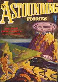 Astounding Stories  Jul 1931