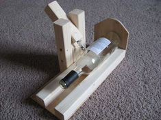 Best Wine Bottle Cutter   ... mind. The result is a nifty cutting jig I threw together this weekend