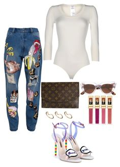 """""""Tyecha-StyleCloset"""" by tyecha-stylecloset on Polyvore featuring Ashish, Sophia Webster, Wolford, Louis Vuitton, E L L E R Y, Yves Saint Laurent and ASOS"""