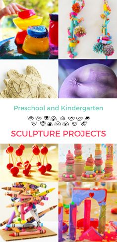 Sculpture Project Ideas for Preschool and Kindergarten Kids – Hobbies paining body for kids and adult Craft Projects For Kids, Arts And Crafts Projects, Clay Crafts, Project Ideas, Kids Crafts, Kindergarten Sculpture, Toothpick Sculpture, Sculpture Projects, Sculpture Ideas