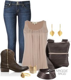 """Maggie Bags Bailey Bag"" by kru222 ❤ liked on Polyvore"