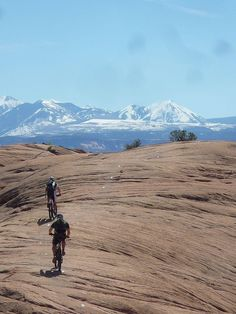 A bikes dream - Moab slickrock