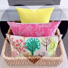 cushions from Little Bohemian