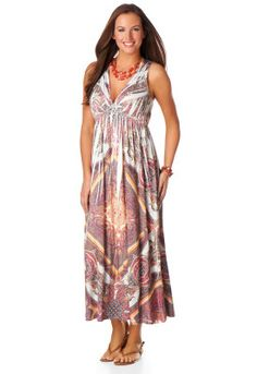 Scarf Medallion Dress what a cute summer dress from Christopher and Banks!!