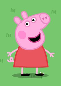 Funny Character, Favorite Cartoon Character, Peppa Pig Painting, Peppa Pig Pictures, Peppa Pig Wallpaper, Papa Pig, Peppa Pig Memes, Peppa Pig Teddy, Peppa Pig Family