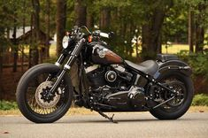 2012 SOFTAIL SLIM **MINT** $10K IN XTRA'S!! BIG for sale on 2040motos