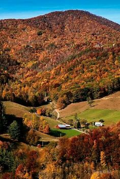 Fall day in Tennessee Valley