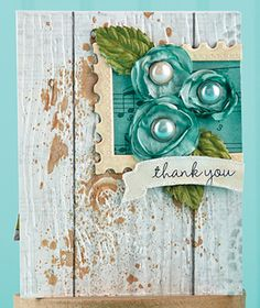 Rustic Thank You Card by @Samantha Sibbet