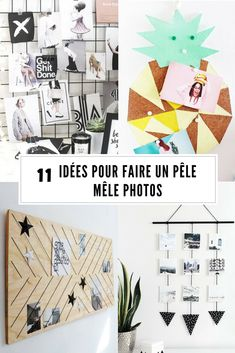 Diy Photo, Diy Décoration, Dyi, Pele Mele Photo, Sister Love, Decoration, Photo Wall, Frame, Photos