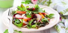 Radish Rainbow Salad