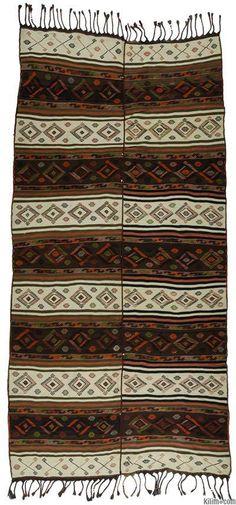 Vintage Malatya Kilim Rug