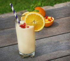 Smoothie opskrift med appelsin og banan