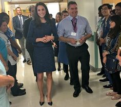 Duchess Catherine visited King's College Hospital