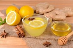 How to Use Ginger to Combat Abdominal Fat - Step To Health Healthy Detox, Healthy Juices, Healthy Drinks, Healthy Tips, Healthy Recipes, Lemon Poppyseed Muffins, Lemon Muffins, Super Dieta, Baking Soda Benefits
