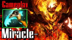 Miracle Shadow Fiend with Scythe of Vyse Dota 2 Gameplay