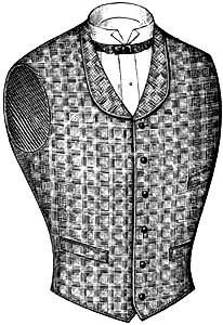 1890s Mens Vest Styles.