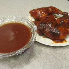 Elmer's Bar-B-Que Sauce & Char-Grilled Chicken