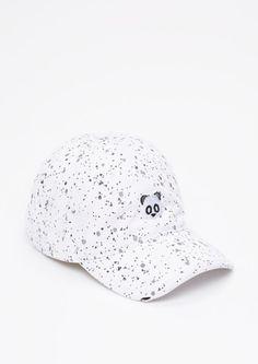 d7d11167ecd Embroidered Panda Paint Splatter Dad Hat